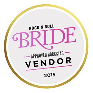 See Us Featured in Rock n Roll Bride in 2015